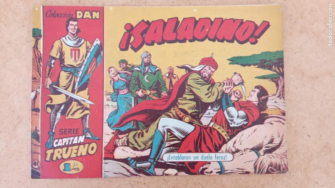 Tebeos: EL CAPITÀN TRUENO ORIGINAL AÑO 1956 COMPLETA Y SUELTA 1 AL 618 - VER TODAS LAS PORTADAS, MUY BUENA - Foto 334 - 204841075