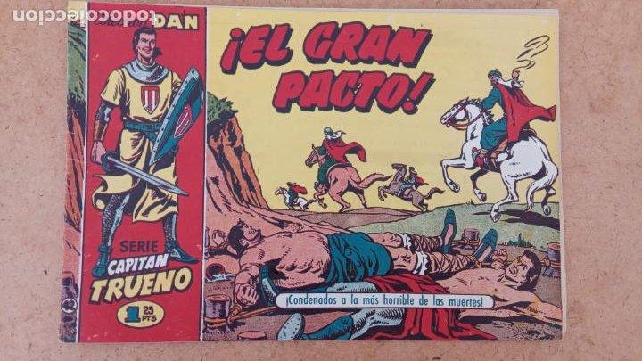 Tebeos: EL CAPITÀN TRUENO ORIGINAL AÑO 1956 COMPLETA Y SUELTA 1 AL 618 - VER TODAS LAS PORTADAS, MUY BUENA - Foto 335 - 204841075