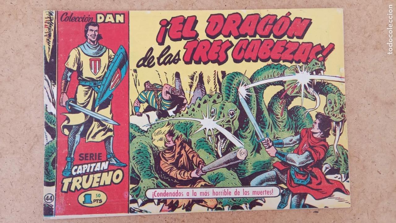 Tebeos: EL CAPITÀN TRUENO ORIGINAL AÑO 1956 COMPLETA Y SUELTA 1 AL 618 - VER TODAS LAS PORTADAS, MUY BUENA - Foto 337 - 204841075