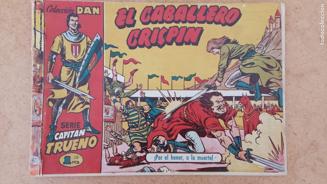 Tebeos: EL CAPITÀN TRUENO ORIGINAL AÑO 1956 COMPLETA Y SUELTA 1 AL 618 - VER TODAS LAS PORTADAS, MUY BUENA - Foto 338 - 204841075