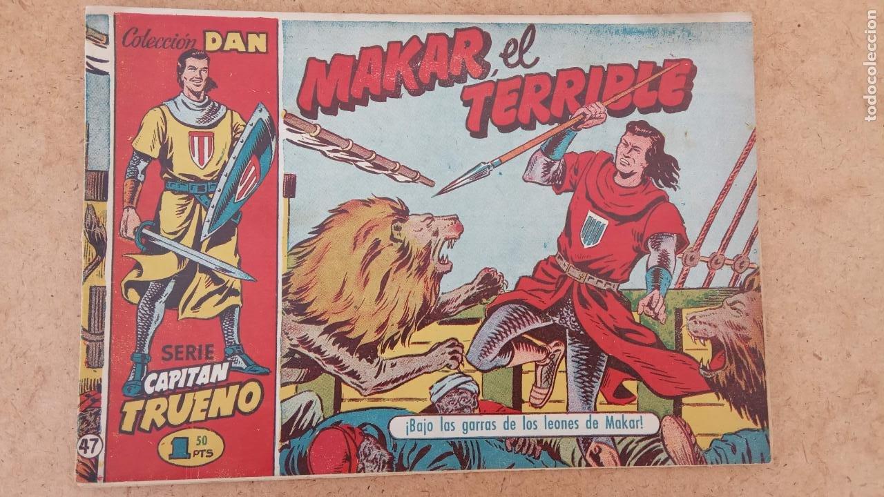 Tebeos: EL CAPITÀN TRUENO ORIGINAL AÑO 1956 COMPLETA Y SUELTA 1 AL 618 - VER TODAS LAS PORTADAS, MUY BUENA - Foto 340 - 204841075