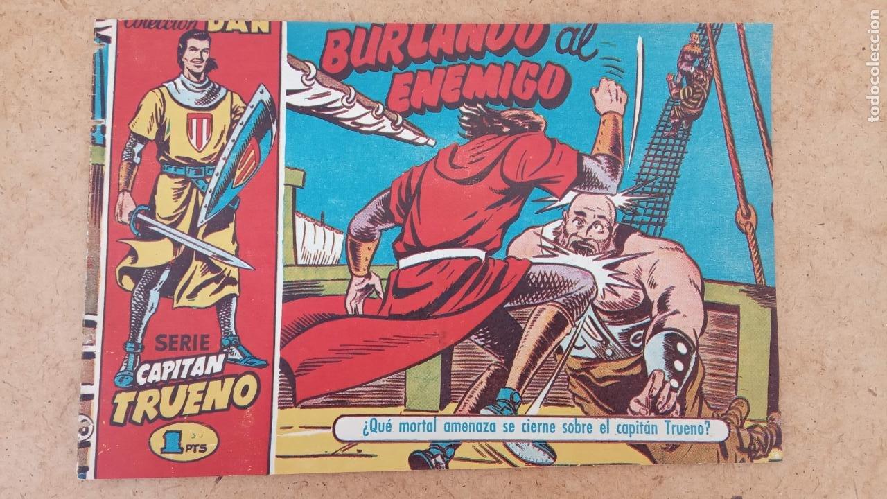 Tebeos: EL CAPITÀN TRUENO ORIGINAL AÑO 1956 COMPLETA Y SUELTA 1 AL 618 - VER TODAS LAS PORTADAS, MUY BUENA - Foto 341 - 204841075