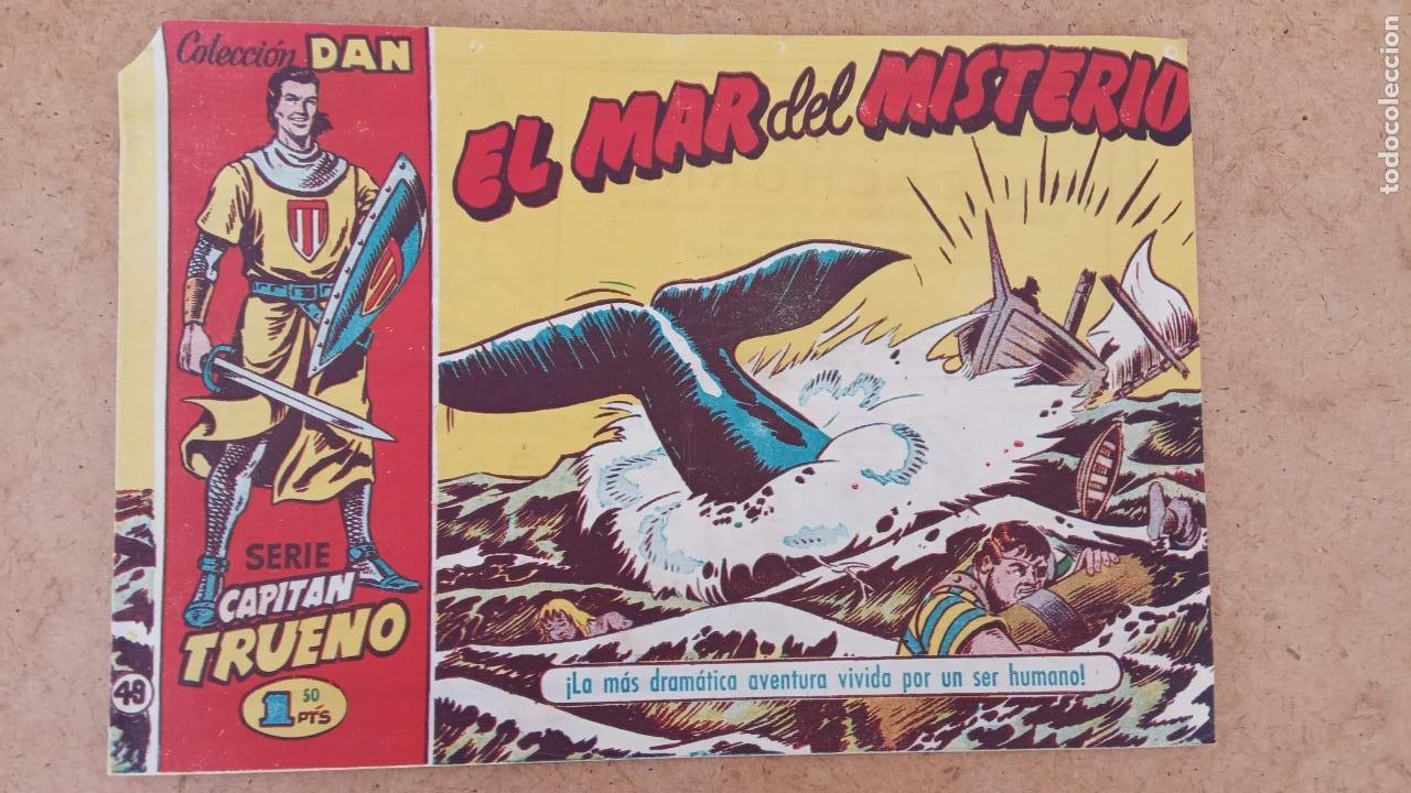 Tebeos: EL CAPITÀN TRUENO ORIGINAL AÑO 1956 COMPLETA Y SUELTA 1 AL 618 - VER TODAS LAS PORTADAS, MUY BUENA - Foto 342 - 204841075