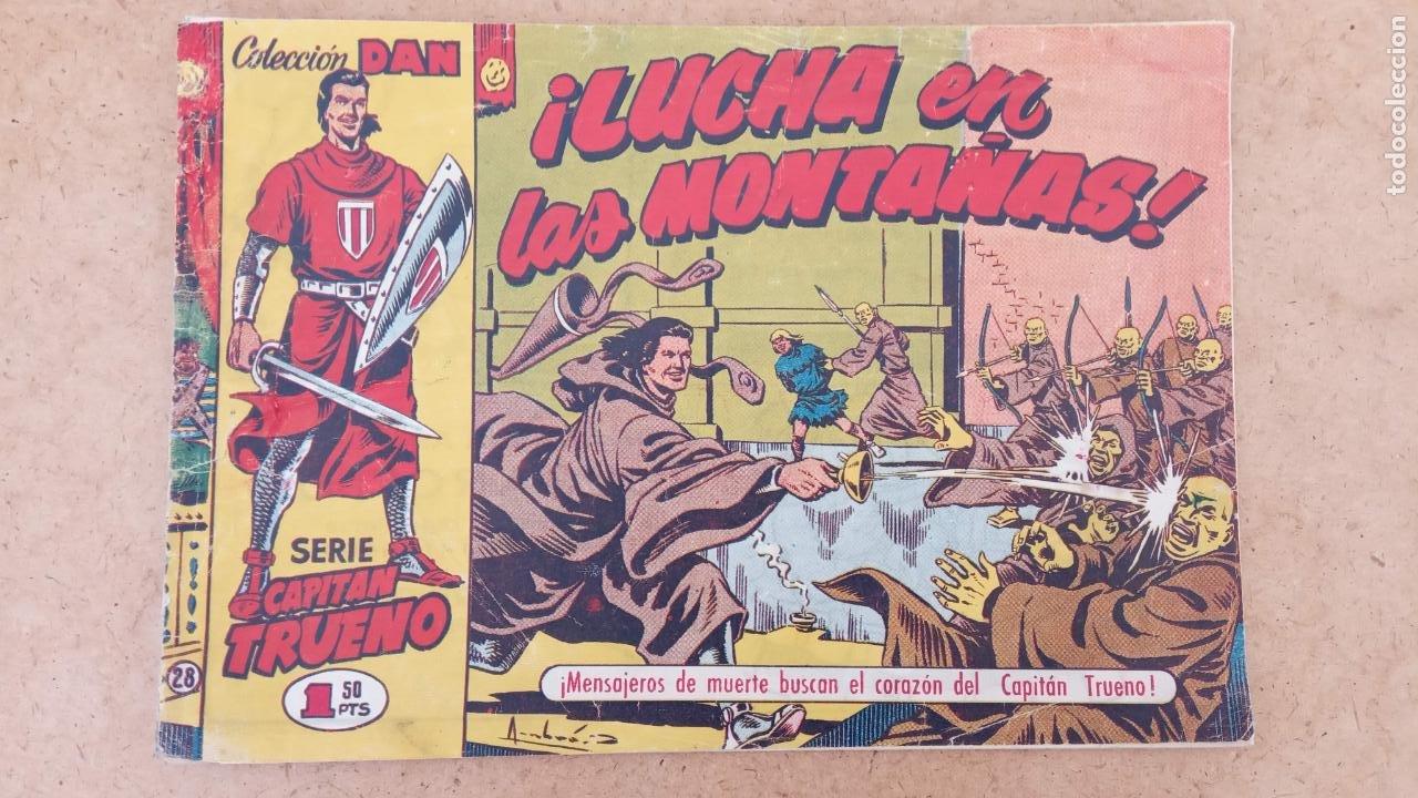 Tebeos: EL CAPITÀN TRUENO ORIGINAL AÑO 1956 COMPLETA Y SUELTA 1 AL 618 - VER TODAS LAS PORTADAS, MUY BUENA - Foto 343 - 204841075