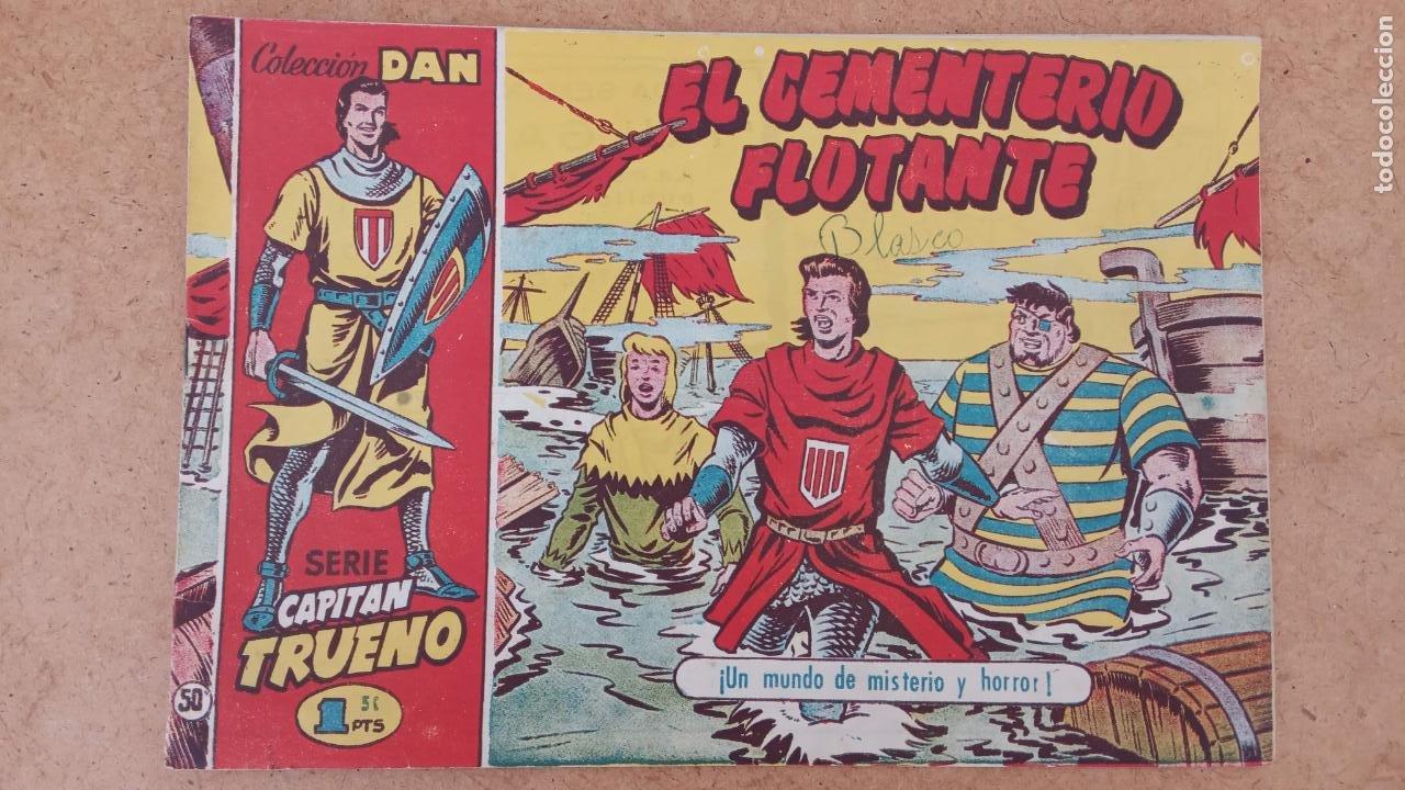 Tebeos: EL CAPITÀN TRUENO ORIGINAL AÑO 1956 COMPLETA Y SUELTA 1 AL 618 - VER TODAS LAS PORTADAS, MUY BUENA - Foto 345 - 204841075
