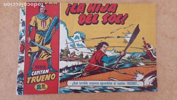 Tebeos: EL CAPITÀN TRUENO ORIGINAL AÑO 1956 COMPLETA Y SUELTA 1 AL 618 - VER TODAS LAS PORTADAS, MUY BUENA - Foto 350 - 204841075