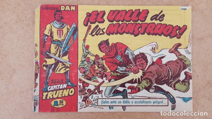 Tebeos: EL CAPITÀN TRUENO ORIGINAL AÑO 1956 COMPLETA Y SUELTA 1 AL 618 - VER TODAS LAS PORTADAS, MUY BUENA - Foto 351 - 204841075