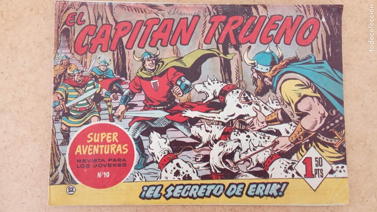 Tebeos: EL CAPITÀN TRUENO ORIGINAL AÑO 1956 COMPLETA Y SUELTA 1 AL 618 - VER TODAS LAS PORTADAS, MUY BUENA - Foto 360 - 204841075