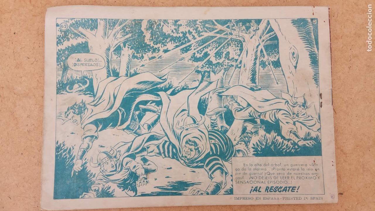 Tebeos: EL CAPITÀN TRUENO ORIGINAL AÑO 1956 COMPLETA Y SUELTA 1 AL 618 - VER TODAS LAS PORTADAS, MUY BUENA - Foto 361 - 204841075