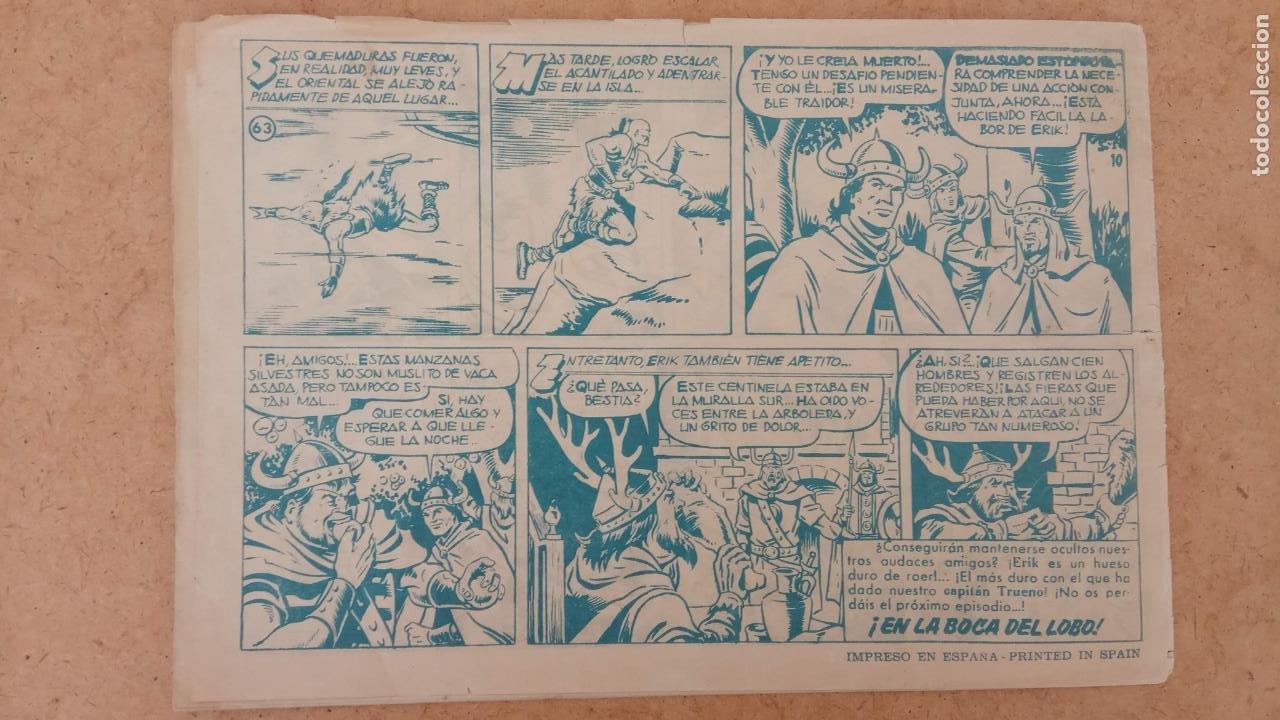 Tebeos: EL CAPITÀN TRUENO ORIGINAL AÑO 1956 COMPLETA Y SUELTA 1 AL 618 - VER TODAS LAS PORTADAS, MUY BUENA - Foto 363 - 204841075