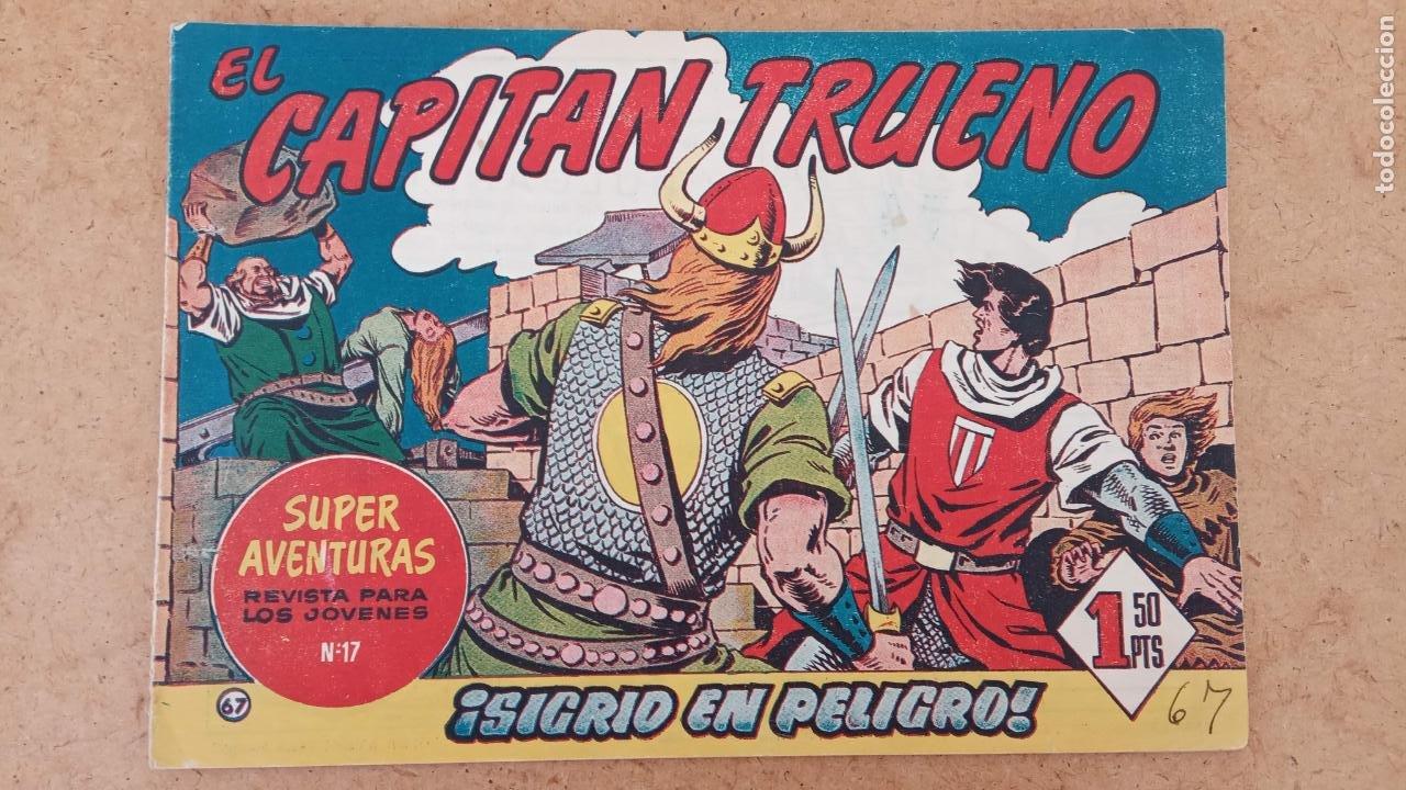 Tebeos: EL CAPITÀN TRUENO ORIGINAL AÑO 1956 COMPLETA Y SUELTA 1 AL 618 - VER TODAS LAS PORTADAS, MUY BUENA - Foto 369 - 204841075