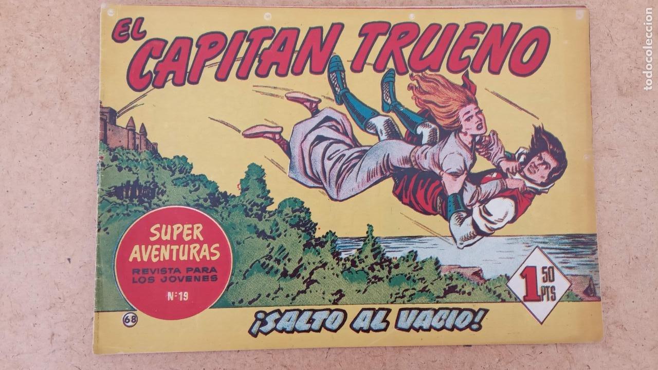 Tebeos: EL CAPITÀN TRUENO ORIGINAL AÑO 1956 COMPLETA Y SUELTA 1 AL 618 - VER TODAS LAS PORTADAS, MUY BUENA - Foto 371 - 204841075