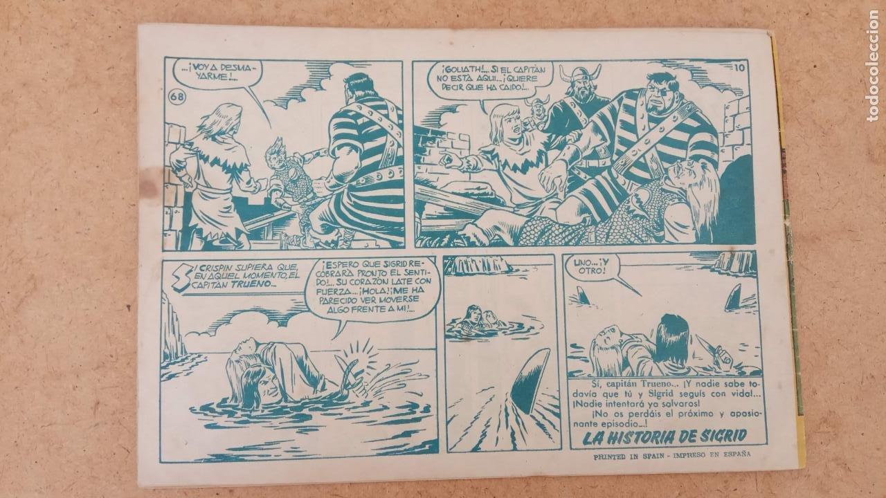 Tebeos: EL CAPITÀN TRUENO ORIGINAL AÑO 1956 COMPLETA Y SUELTA 1 AL 618 - VER TODAS LAS PORTADAS, MUY BUENA - Foto 372 - 204841075