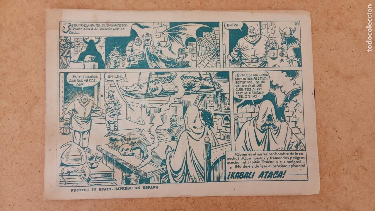 Tebeos: EL CAPITÀN TRUENO ORIGINAL AÑO 1956 COMPLETA Y SUELTA 1 AL 618 - VER TODAS LAS PORTADAS, MUY BUENA - Foto 375 - 204841075