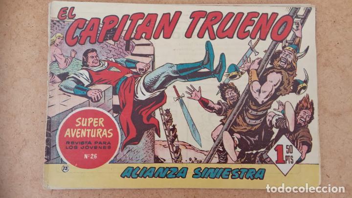 Tebeos: EL CAPITÀN TRUENO ORIGINAL AÑO 1956 COMPLETA Y SUELTA 1 AL 618 - VER TODAS LAS PORTADAS, MUY BUENA - Foto 380 - 204841075