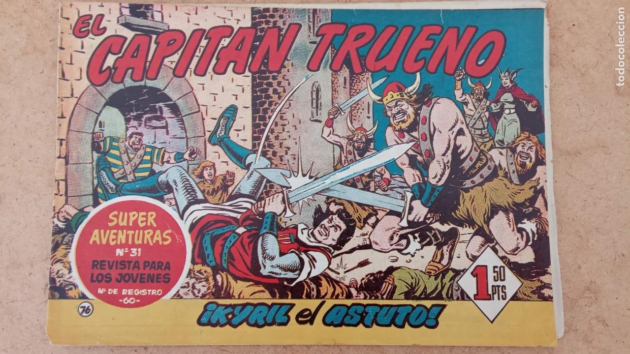 Tebeos: EL CAPITÀN TRUENO ORIGINAL AÑO 1956 COMPLETA Y SUELTA 1 AL 618 - VER TODAS LAS PORTADAS, MUY BUENA - Foto 385 - 204841075