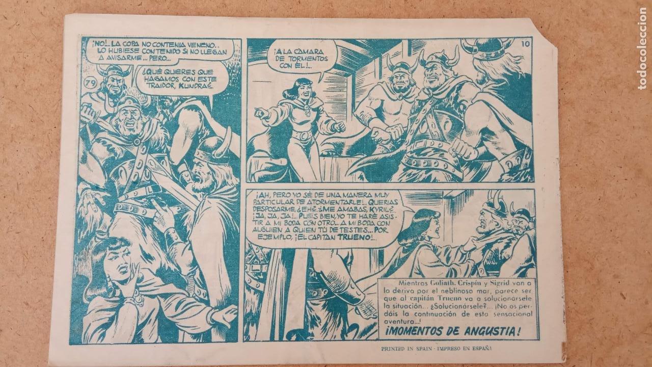 Tebeos: EL CAPITÀN TRUENO ORIGINAL AÑO 1956 COMPLETA Y SUELTA 1 AL 618 - VER TODAS LAS PORTADAS, MUY BUENA - Foto 391 - 204841075
