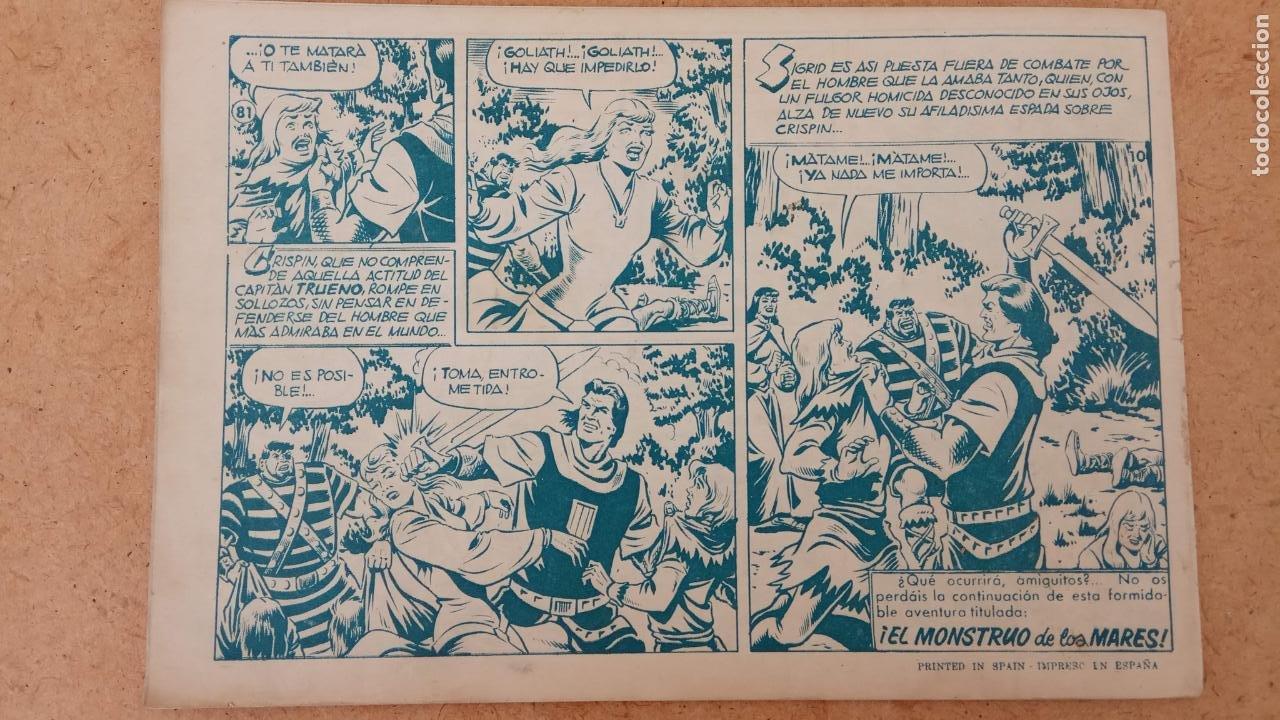 Tebeos: EL CAPITÀN TRUENO ORIGINAL AÑO 1956 COMPLETA Y SUELTA 1 AL 618 - VER TODAS LAS PORTADAS, MUY BUENA - Foto 394 - 204841075