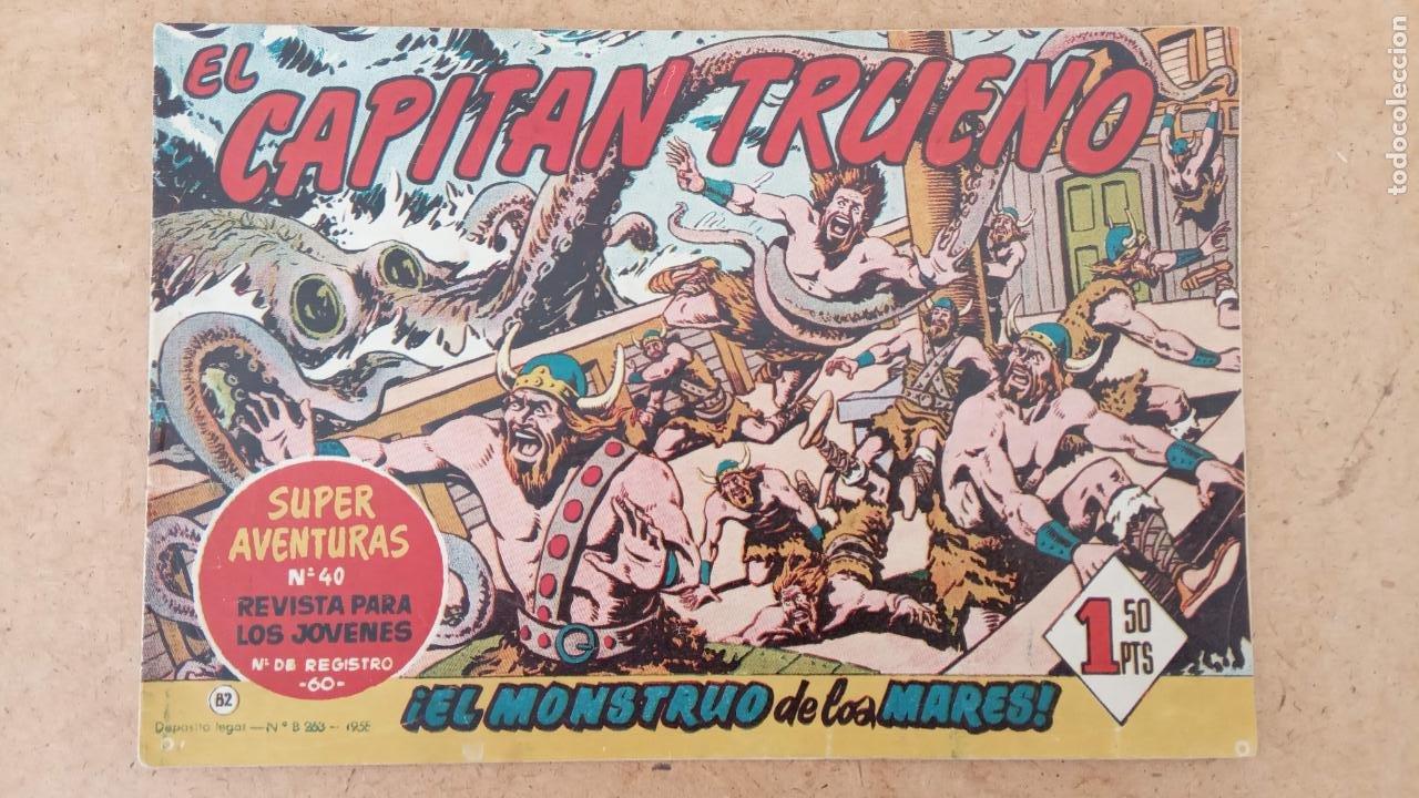 Tebeos: EL CAPITÀN TRUENO ORIGINAL AÑO 1956 COMPLETA Y SUELTA 1 AL 618 - VER TODAS LAS PORTADAS, MUY BUENA - Foto 395 - 204841075