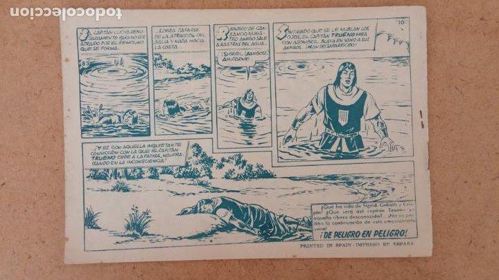 Tebeos: EL CAPITÀN TRUENO ORIGINAL AÑO 1956 COMPLETA Y SUELTA 1 AL 618 - VER TODAS LAS PORTADAS, MUY BUENA - Foto 398 - 204841075