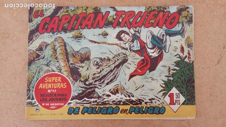 Tebeos: EL CAPITÀN TRUENO ORIGINAL AÑO 1956 COMPLETA Y SUELTA 1 AL 618 - VER TODAS LAS PORTADAS, MUY BUENA - Foto 399 - 204841075