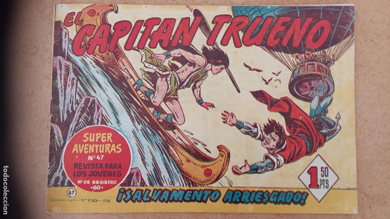 Tebeos: EL CAPITÀN TRUENO ORIGINAL AÑO 1956 COMPLETA Y SUELTA 1 AL 618 - VER TODAS LAS PORTADAS, MUY BUENA - Foto 404 - 204841075
