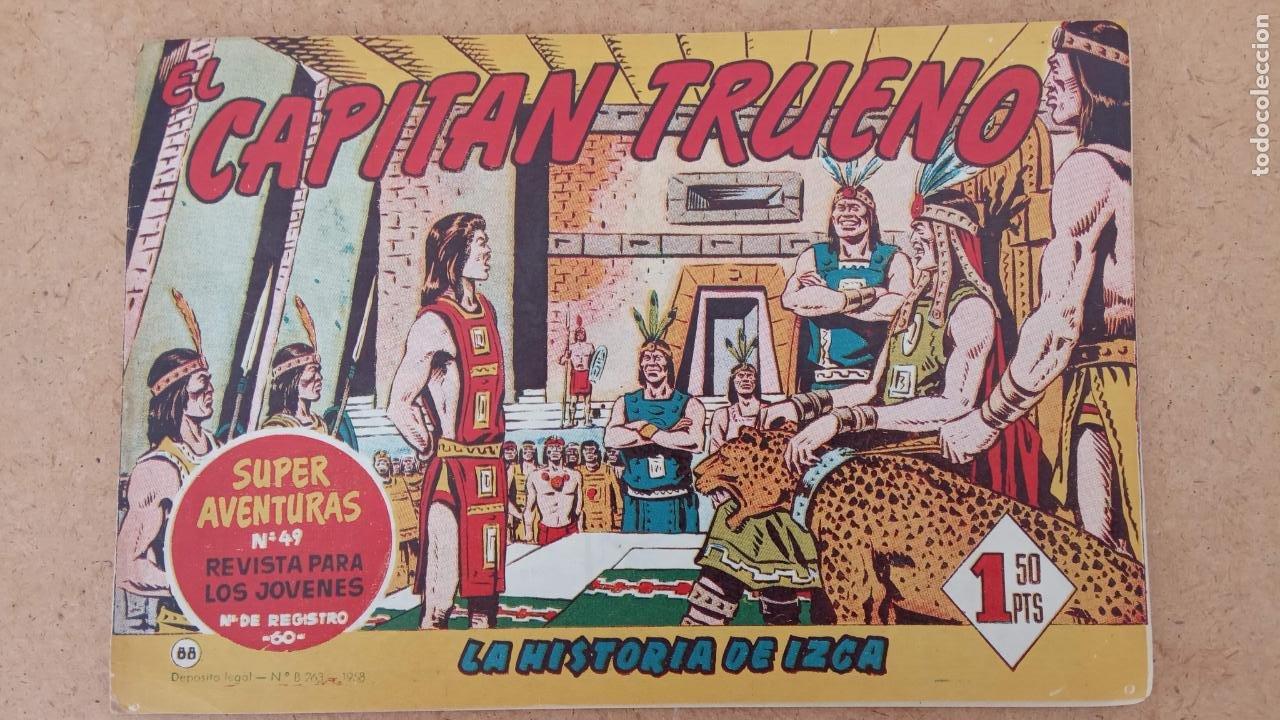 Tebeos: EL CAPITÀN TRUENO ORIGINAL AÑO 1956 COMPLETA Y SUELTA 1 AL 618 - VER TODAS LAS PORTADAS, MUY BUENA - Foto 406 - 204841075