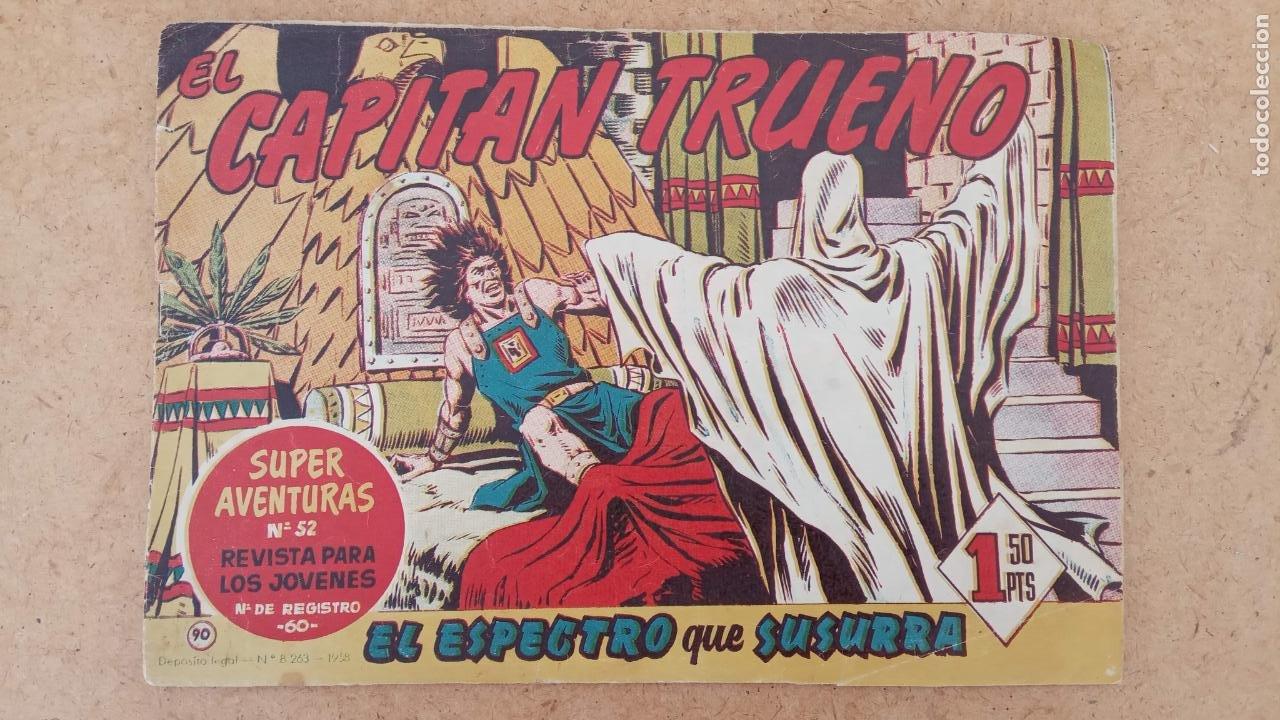 Tebeos: EL CAPITÀN TRUENO ORIGINAL AÑO 1956 COMPLETA Y SUELTA 1 AL 618 - VER TODAS LAS PORTADAS, MUY BUENA - Foto 410 - 204841075