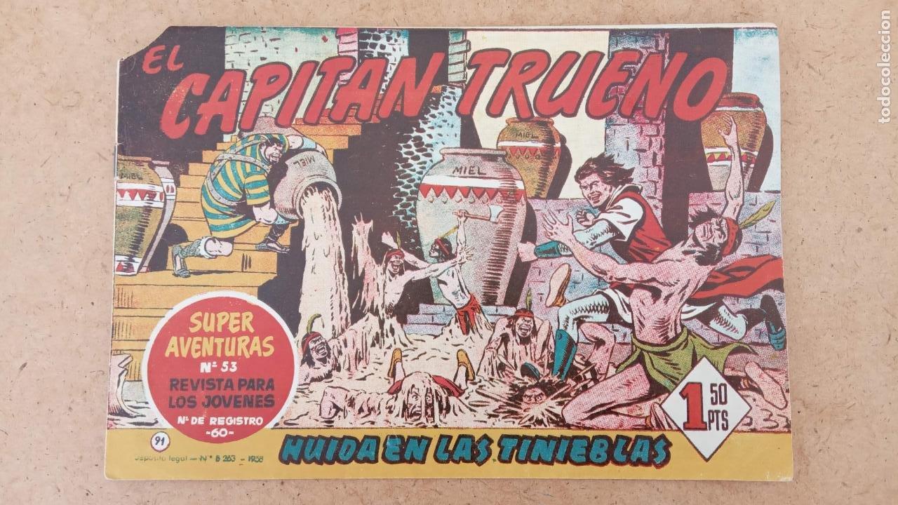 Tebeos: EL CAPITÀN TRUENO ORIGINAL AÑO 1956 COMPLETA Y SUELTA 1 AL 618 - VER TODAS LAS PORTADAS, MUY BUENA - Foto 411 - 204841075