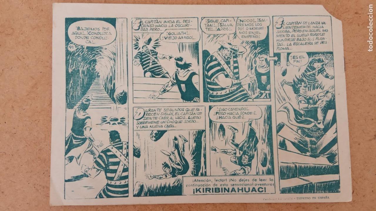 Tebeos: EL CAPITÀN TRUENO ORIGINAL AÑO 1956 COMPLETA Y SUELTA 1 AL 618 - VER TODAS LAS PORTADAS, MUY BUENA - Foto 412 - 204841075