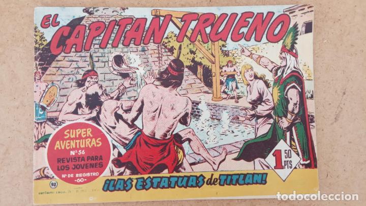 Tebeos: EL CAPITÀN TRUENO ORIGINAL AÑO 1956 COMPLETA Y SUELTA 1 AL 618 - VER TODAS LAS PORTADAS, MUY BUENA - Foto 414 - 204841075