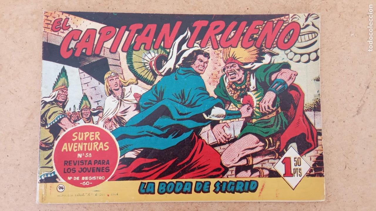 Tebeos: EL CAPITÀN TRUENO ORIGINAL AÑO 1956 COMPLETA Y SUELTA 1 AL 618 - VER TODAS LAS PORTADAS, MUY BUENA - Foto 416 - 204841075
