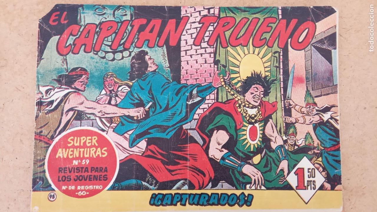 Tebeos: EL CAPITÀN TRUENO ORIGINAL AÑO 1956 COMPLETA Y SUELTA 1 AL 618 - VER TODAS LAS PORTADAS, MUY BUENA - Foto 418 - 204841075