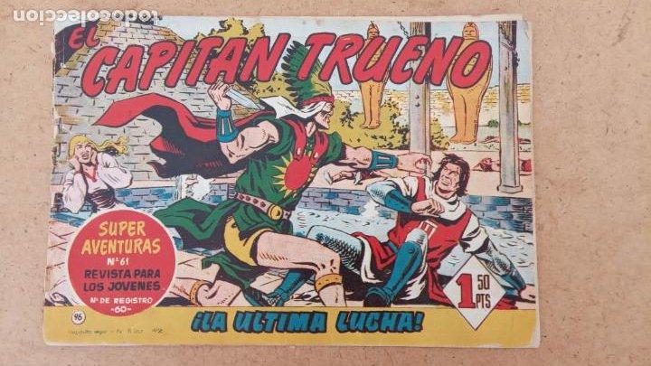 Tebeos: EL CAPITÀN TRUENO ORIGINAL AÑO 1956 COMPLETA Y SUELTA 1 AL 618 - VER TODAS LAS PORTADAS, MUY BUENA - Foto 420 - 204841075