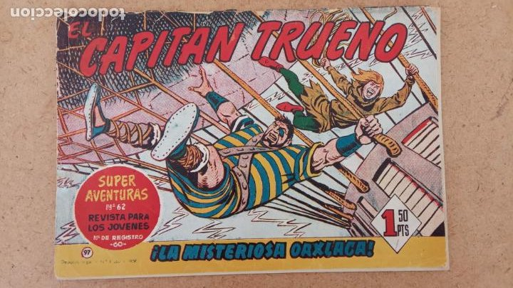 Tebeos: EL CAPITÀN TRUENO ORIGINAL AÑO 1956 COMPLETA Y SUELTA 1 AL 618 - VER TODAS LAS PORTADAS, MUY BUENA - Foto 421 - 204841075
