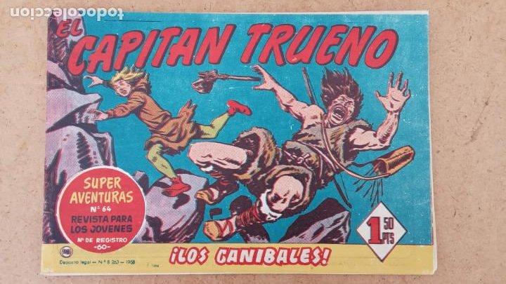 Tebeos: EL CAPITÀN TRUENO ORIGINAL AÑO 1956 COMPLETA Y SUELTA 1 AL 618 - VER TODAS LAS PORTADAS, MUY BUENA - Foto 423 - 204841075