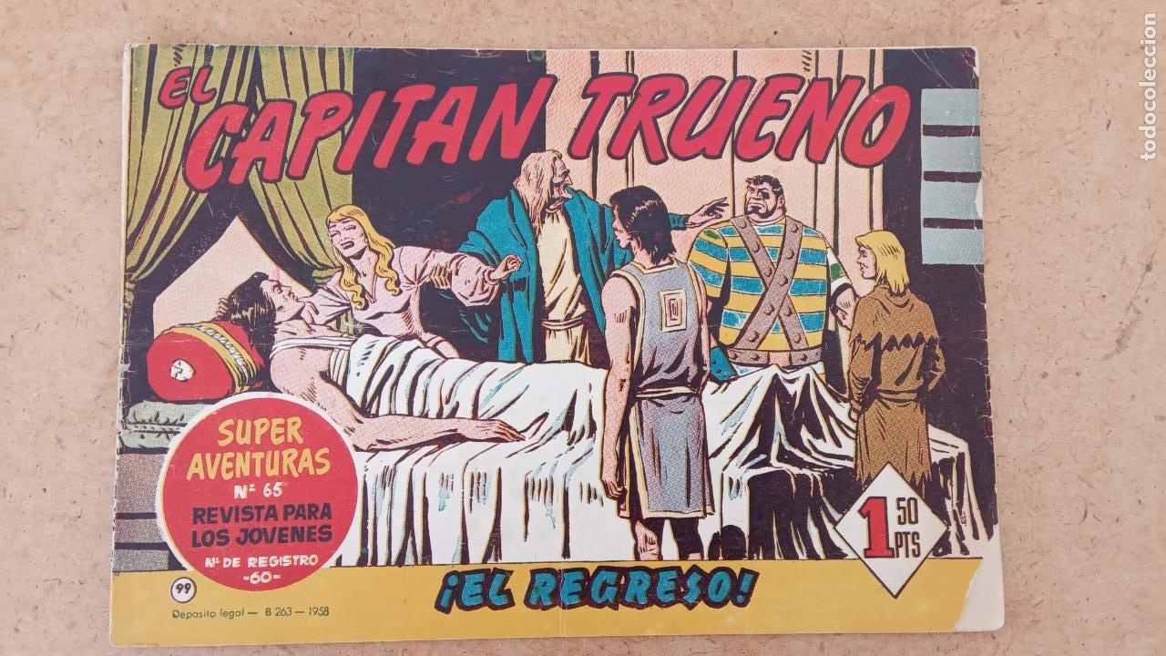Tebeos: EL CAPITÀN TRUENO ORIGINAL AÑO 1956 COMPLETA Y SUELTA 1 AL 618 - VER TODAS LAS PORTADAS, MUY BUENA - Foto 425 - 204841075