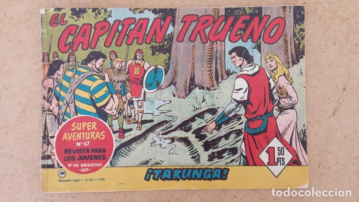 Tebeos: EL CAPITÀN TRUENO ORIGINAL AÑO 1956 COMPLETA Y SUELTA 1 AL 618 - VER TODAS LAS PORTADAS, MUY BUENA - Foto 426 - 204841075