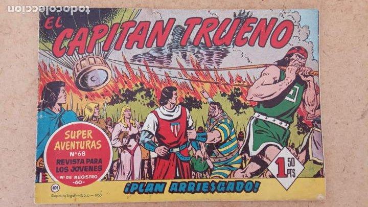 Tebeos: EL CAPITÀN TRUENO ORIGINAL AÑO 1956 COMPLETA Y SUELTA 1 AL 618 - VER TODAS LAS PORTADAS, MUY BUENA - Foto 427 - 204841075