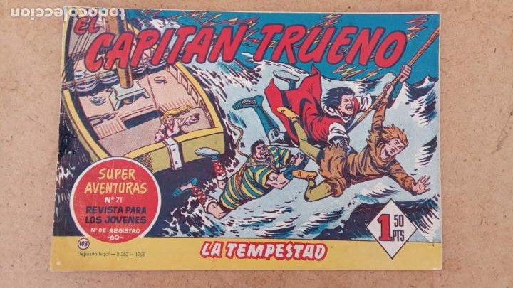 Tebeos: EL CAPITÀN TRUENO ORIGINAL AÑO 1956 COMPLETA Y SUELTA 1 AL 618 - VER TODAS LAS PORTADAS, MUY BUENA - Foto 431 - 204841075