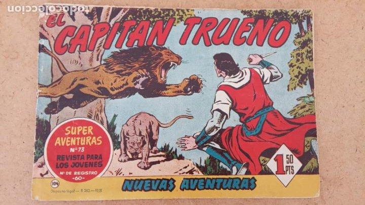 Tebeos: EL CAPITÀN TRUENO ORIGINAL AÑO 1956 COMPLETA Y SUELTA 1 AL 618 - VER TODAS LAS PORTADAS, MUY BUENA - Foto 433 - 204841075