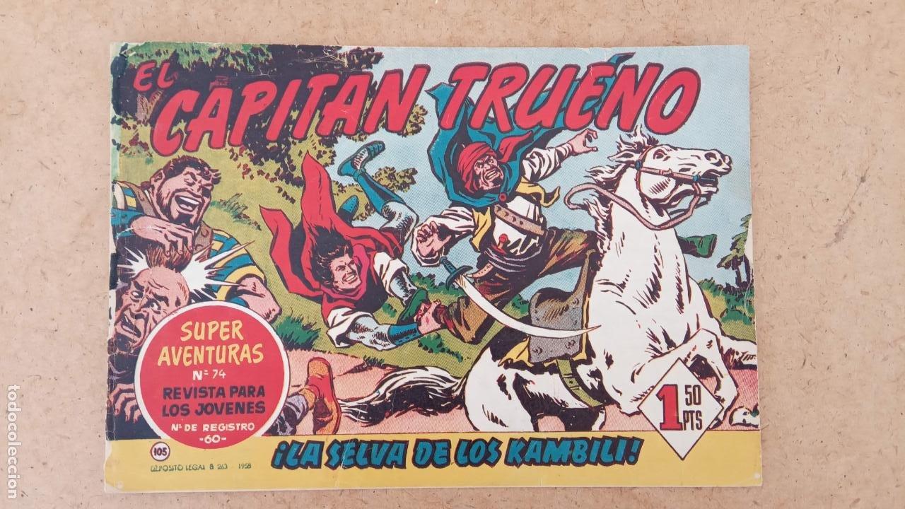Tebeos: EL CAPITÀN TRUENO ORIGINAL AÑO 1956 COMPLETA Y SUELTA 1 AL 618 - VER TODAS LAS PORTADAS, MUY BUENA - Foto 434 - 204841075