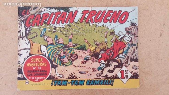 Tebeos: EL CAPITÀN TRUENO ORIGINAL AÑO 1956 COMPLETA Y SUELTA 1 AL 618 - VER TODAS LAS PORTADAS, MUY BUENA - Foto 436 - 204841075