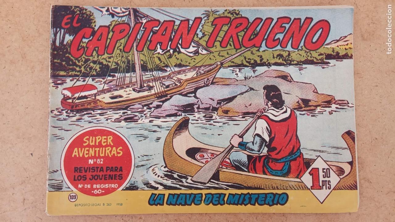 Tebeos: EL CAPITÀN TRUENO ORIGINAL AÑO 1956 COMPLETA Y SUELTA 1 AL 618 - VER TODAS LAS PORTADAS, MUY BUENA - Foto 440 - 204841075