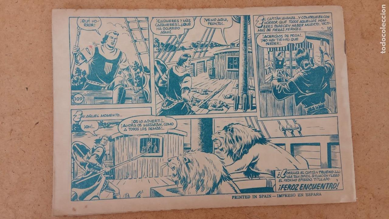 Tebeos: EL CAPITÀN TRUENO ORIGINAL AÑO 1956 COMPLETA Y SUELTA 1 AL 618 - VER TODAS LAS PORTADAS, MUY BUENA - Foto 441 - 204841075