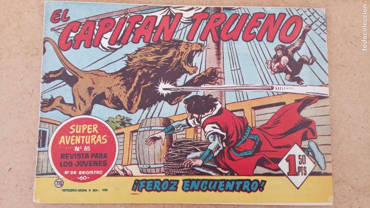 Tebeos: EL CAPITÀN TRUENO ORIGINAL AÑO 1956 COMPLETA Y SUELTA 1 AL 618 - VER TODAS LAS PORTADAS, MUY BUENA - Foto 442 - 204841075