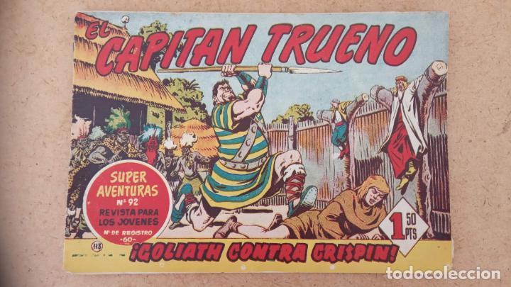 Tebeos: EL CAPITÀN TRUENO ORIGINAL AÑO 1956 COMPLETA Y SUELTA 1 AL 618 - VER TODAS LAS PORTADAS, MUY BUENA - Foto 448 - 204841075
