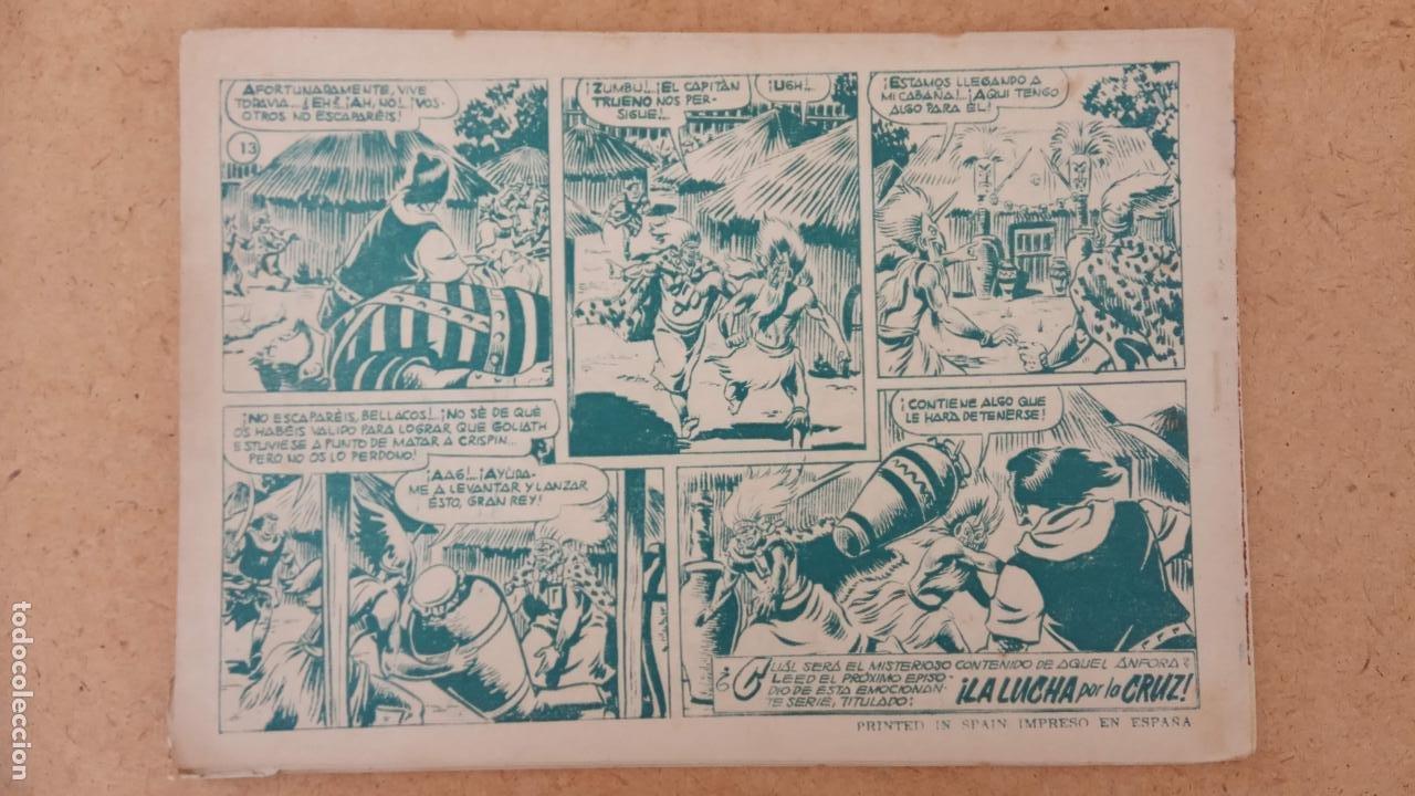 Tebeos: EL CAPITÀN TRUENO ORIGINAL AÑO 1956 COMPLETA Y SUELTA 1 AL 618 - VER TODAS LAS PORTADAS, MUY BUENA - Foto 449 - 204841075