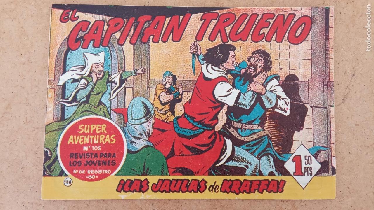 Tebeos: EL CAPITÀN TRUENO ORIGINAL AÑO 1956 COMPLETA Y SUELTA 1 AL 618 - VER TODAS LAS PORTADAS, MUY BUENA - Foto 456 - 204841075