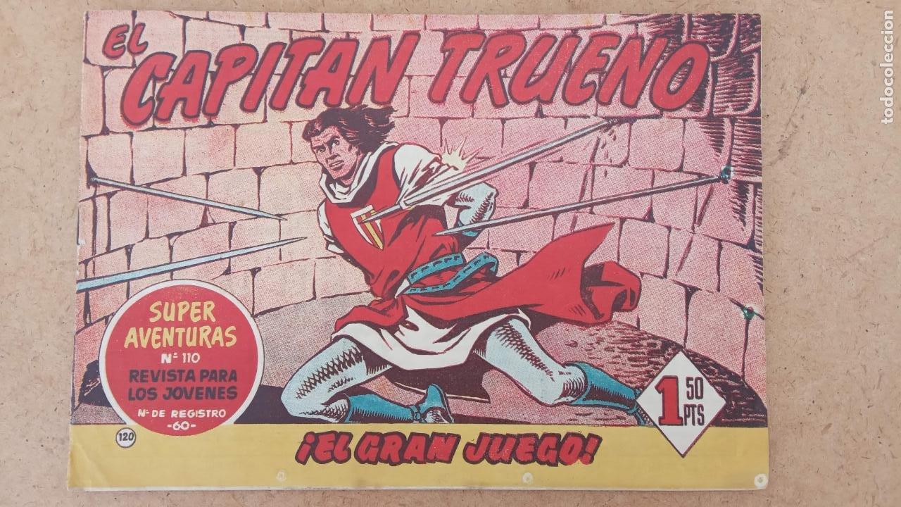 Tebeos: EL CAPITÀN TRUENO ORIGINAL AÑO 1956 COMPLETA Y SUELTA 1 AL 618 - VER TODAS LAS PORTADAS, MUY BUENA - Foto 460 - 204841075